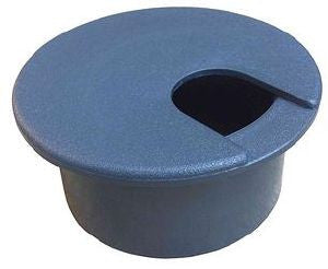 Grey desk grommet-46mm desk cut-out grey grommet (GT001G)