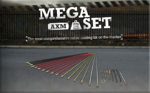 Super-Rod Rod Kits-Mega Set 16 metres-5 Rod Flexibilities