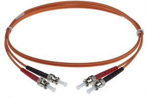 5m ST-ST 50/125um - 3mm duplex patchcord ORANGE