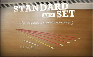 Super-Rod Rod Kits-Standard Set 5 metres-3 Rod Flexibilities