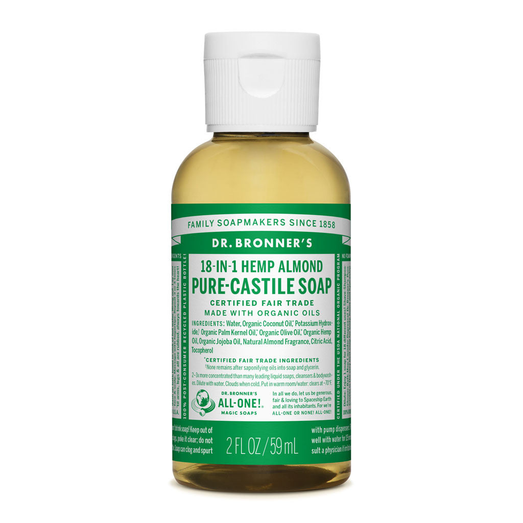Dr. Bronner's Pure-Castile Liquid Soap - Almond