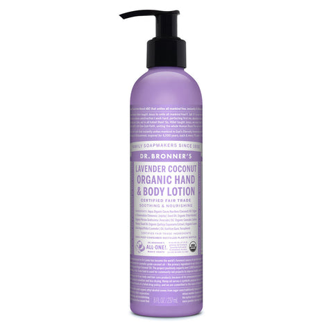 Dr. Bronner's Organic Lotion - Lavender Coconut