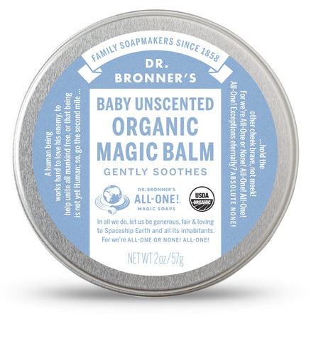Dr. Bronner's Organic Magic Balm - Baby Unscented - 57g