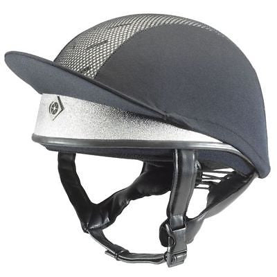 Charles Owen Pro II Jockey Skull PAS015:2011  Ventilated Riding Hat with Free Cover