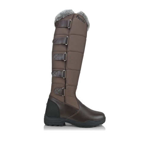 Brogini Forte Tall Winter  Boots Brown