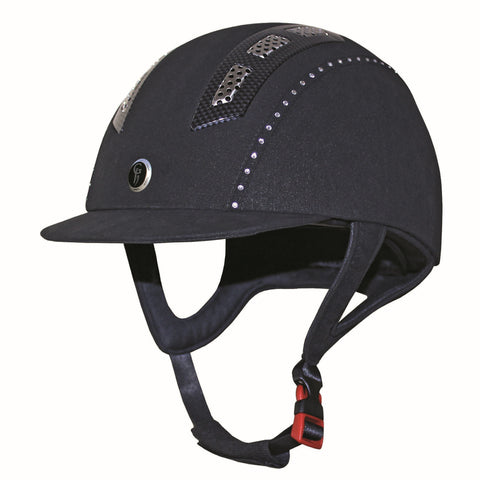 Gatehouse Chelsea Air Flow Pro Crystal Riding Hat - Kitemarked to PAS015 2011