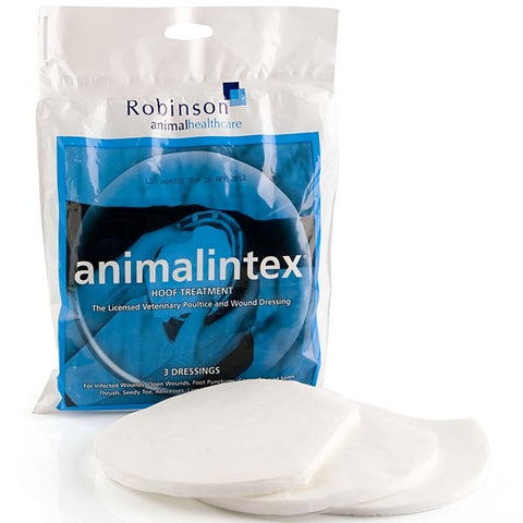 ANIMALINTEX HORSE HOOF TREATMENT READY TO USE HOT OR COLD - 3 PACK
