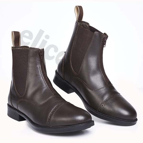 Elico Hartshead Zip Front Boots Short Riding Boots