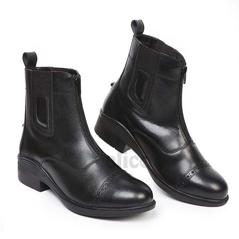 Elico Oakwood Zipped Jodhpur Boots
