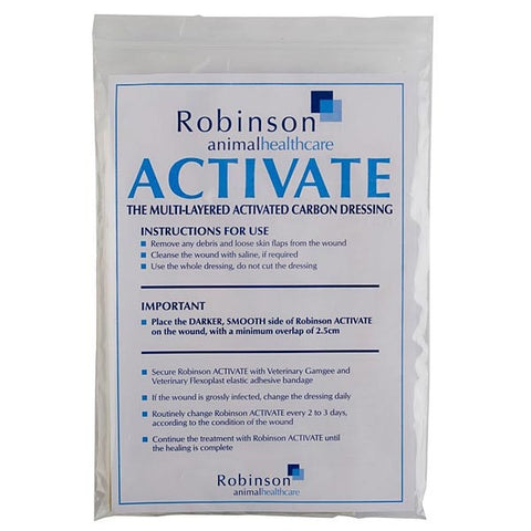 Robinsons Activate Carbon Dressing - 5 Pack