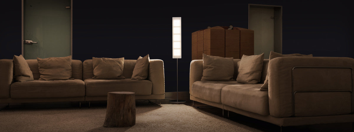 OMLED One f5 floor lamp living room
