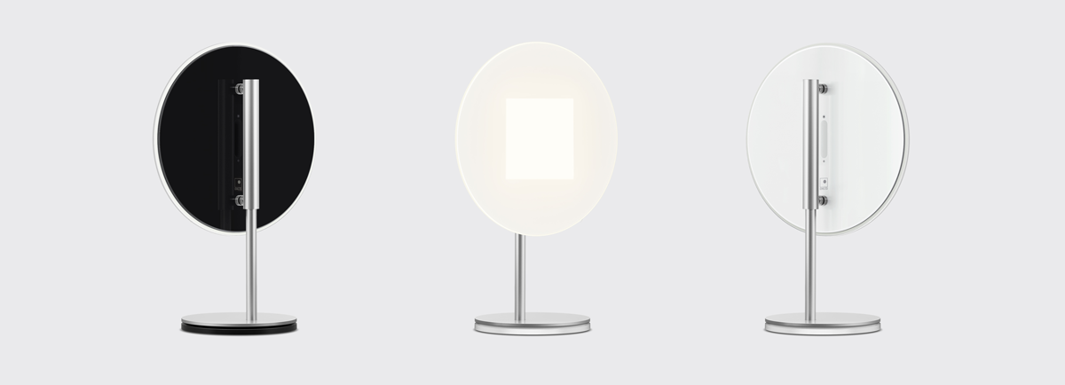 OMLED Round t1 OLED table lamp