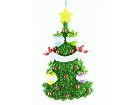 Glitter Christmas Tree (4 Names)
