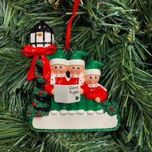 Caroler Family of 3