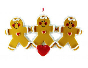 Gingerbread Family Of Three