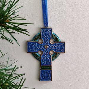Scottish Medallion Celtic Cross