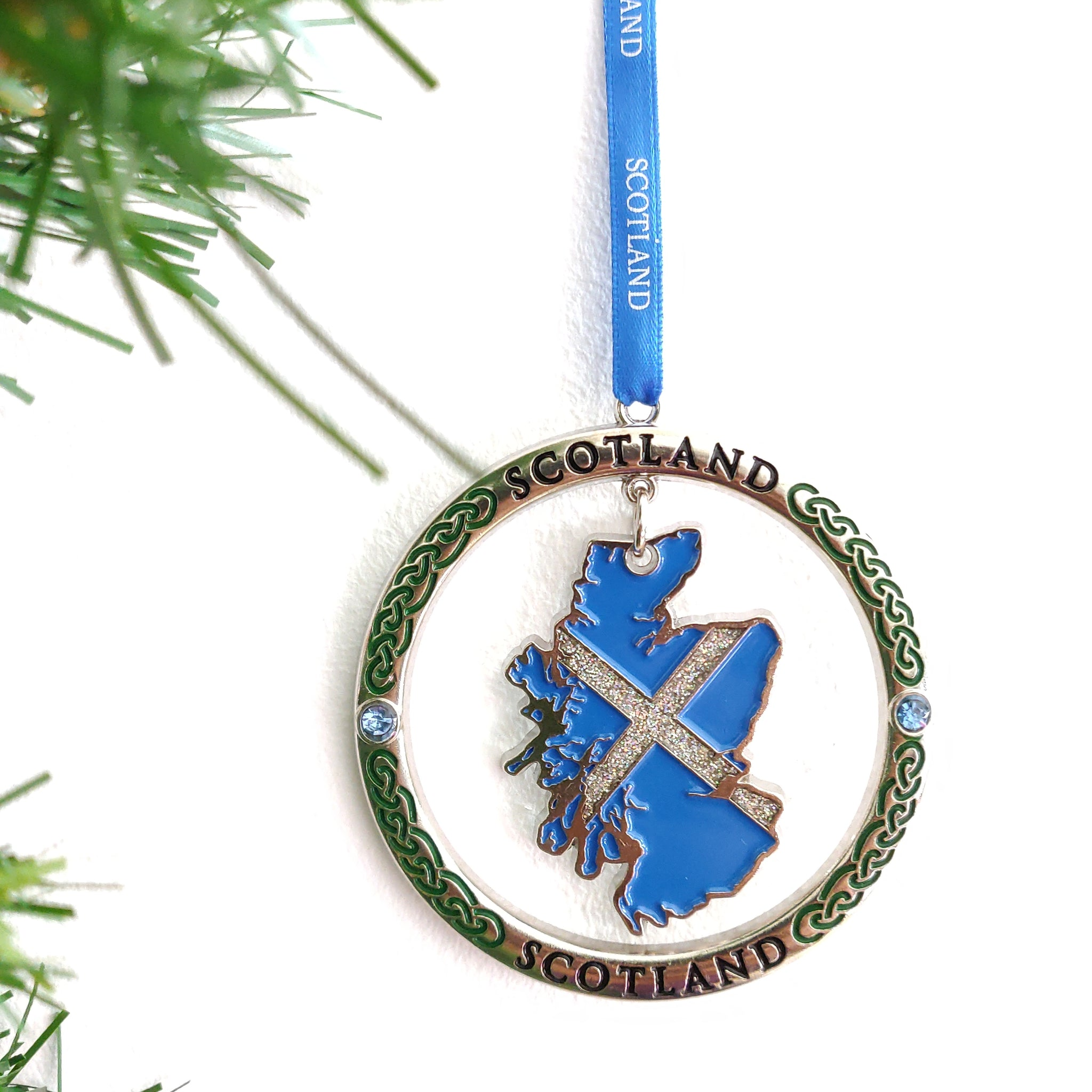 Scottish Medallion Scotland Map