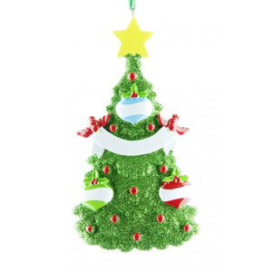Glitter Christmas Tree (3 Names)
