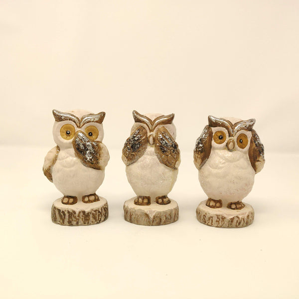 Trio of Owls