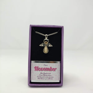 Angel Necklace - November