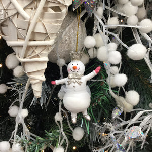 Princess Snowman Outstretched