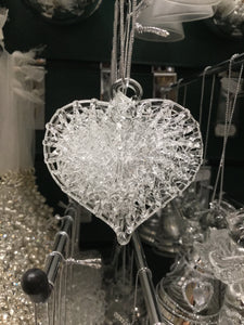 Glass Intricate Heart