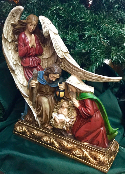 Winged Angel Nativity