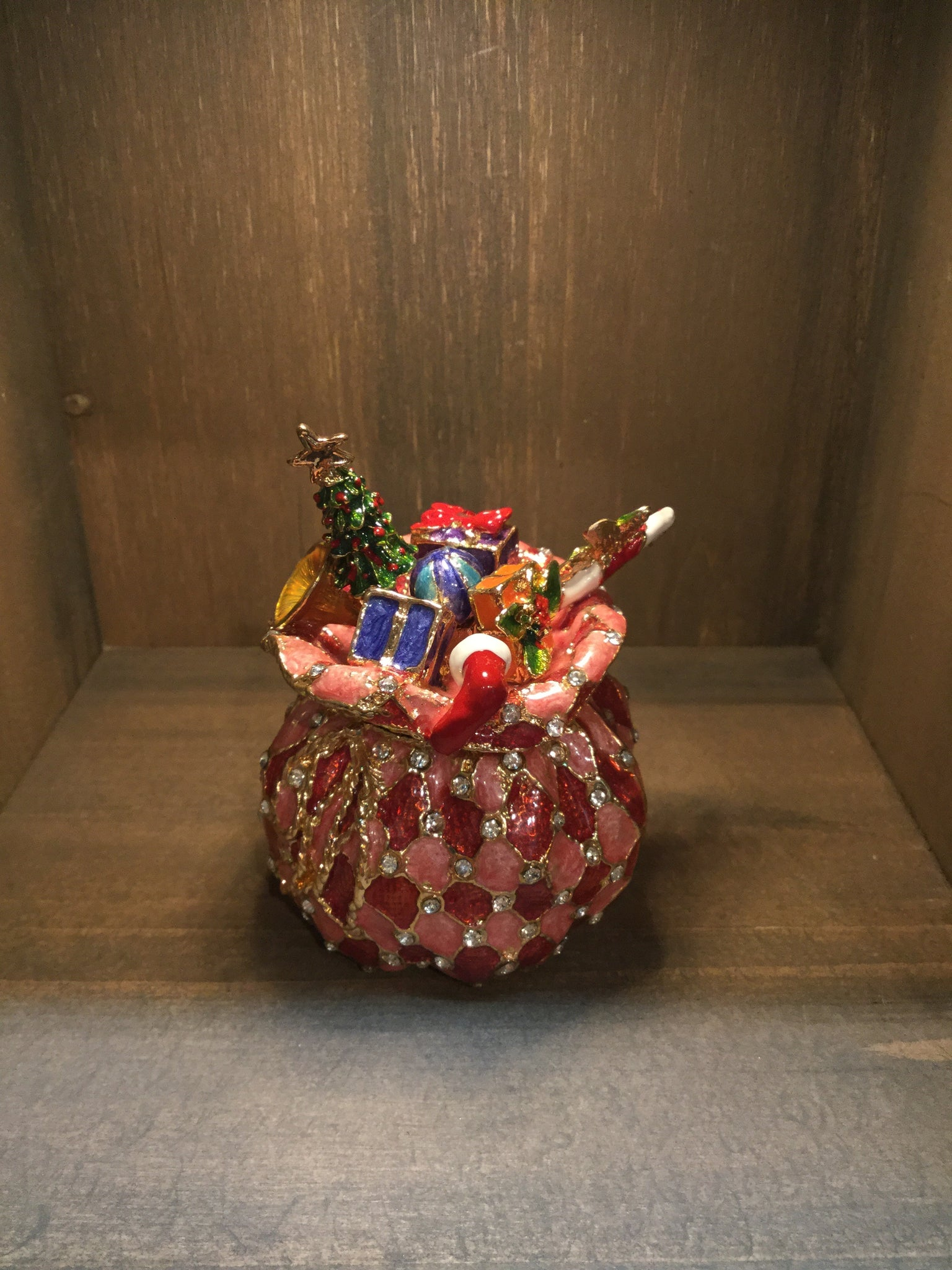 Presents Sack Trinket Box