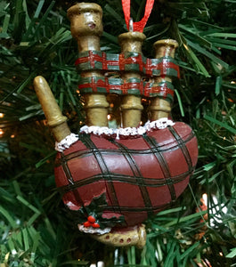 Bagpipes Christmas decoration
