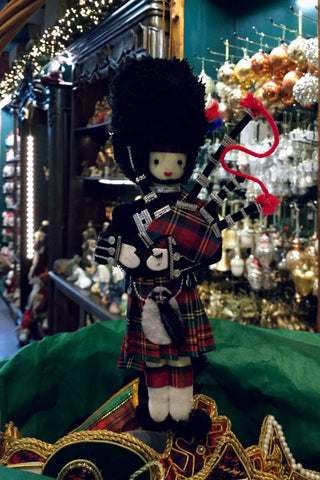 Hanging Stuffed Bagpiper