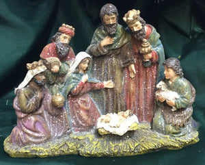 Sparkly One Piece Nativity