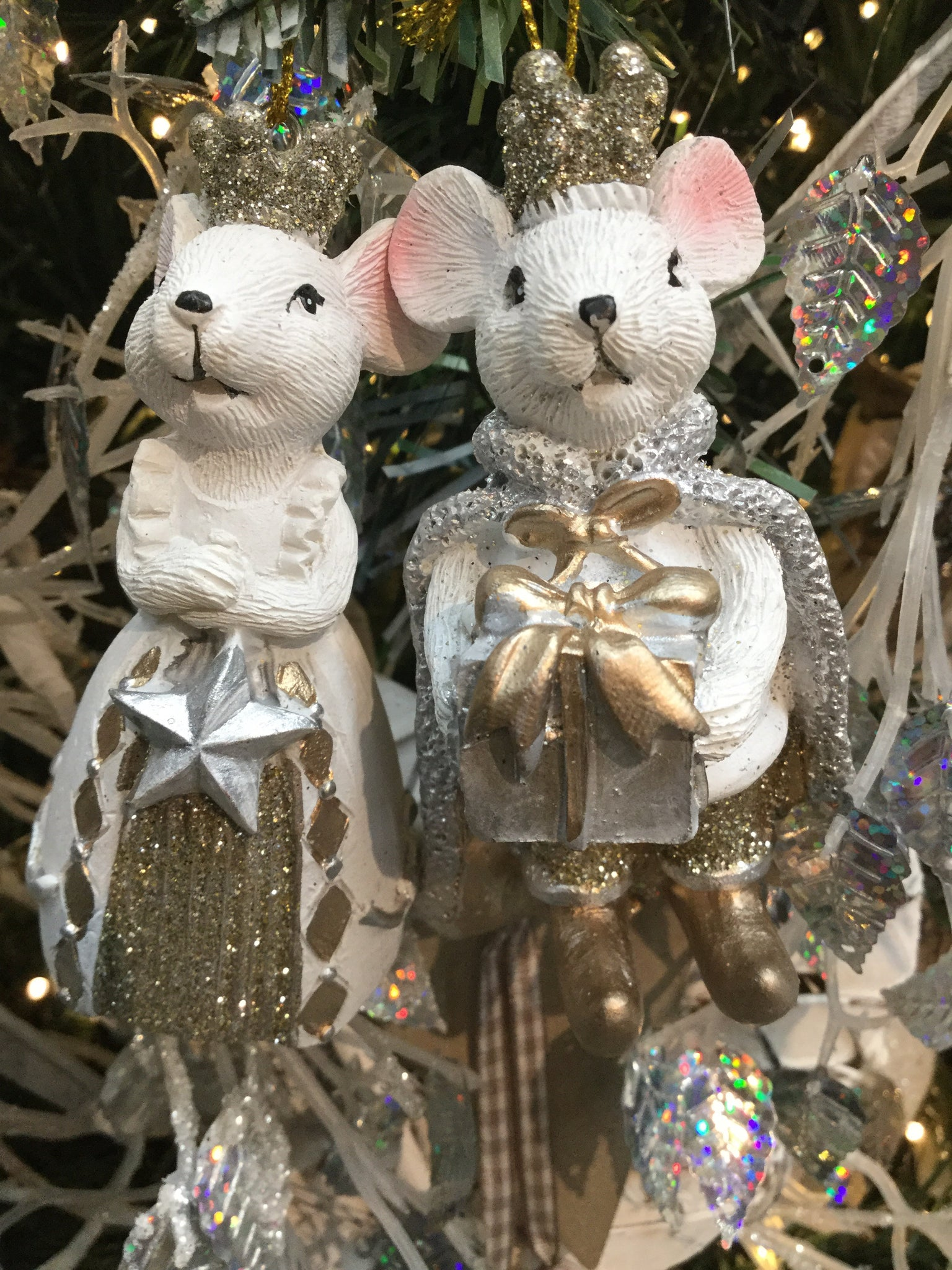 King and Queen Mouse Hanging Decoration