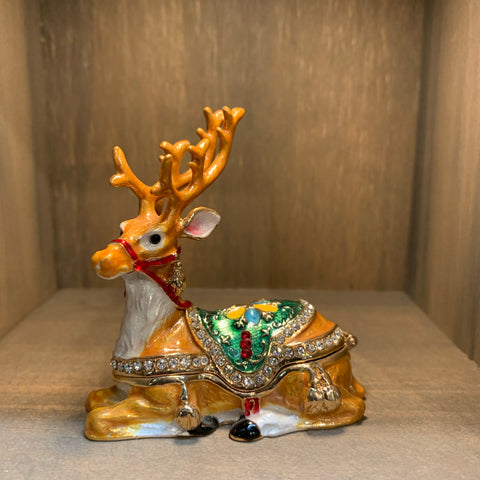 Reindeer Trinket Box