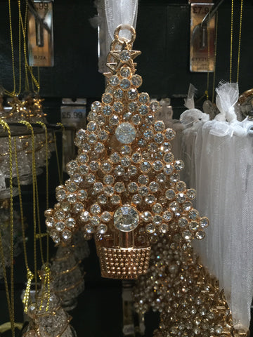 Gold Diamanté Christmas Tree