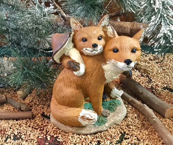 Standing Fox Decoration