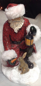 Santa with Rabbit