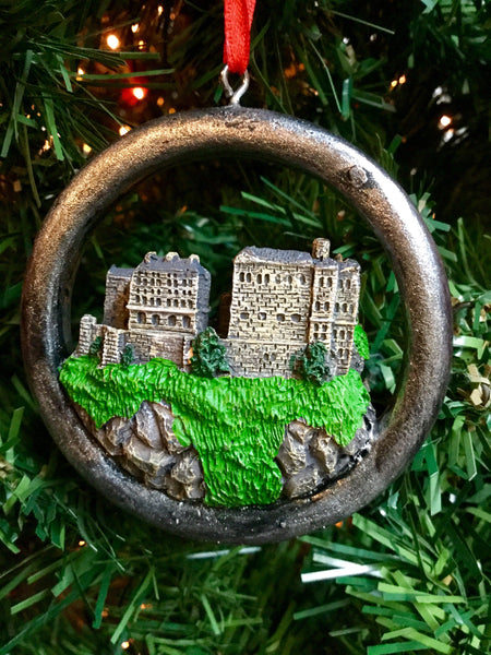 Small Edinburgh Castle Christmas decoration