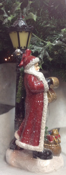 Father Christmas with lantern