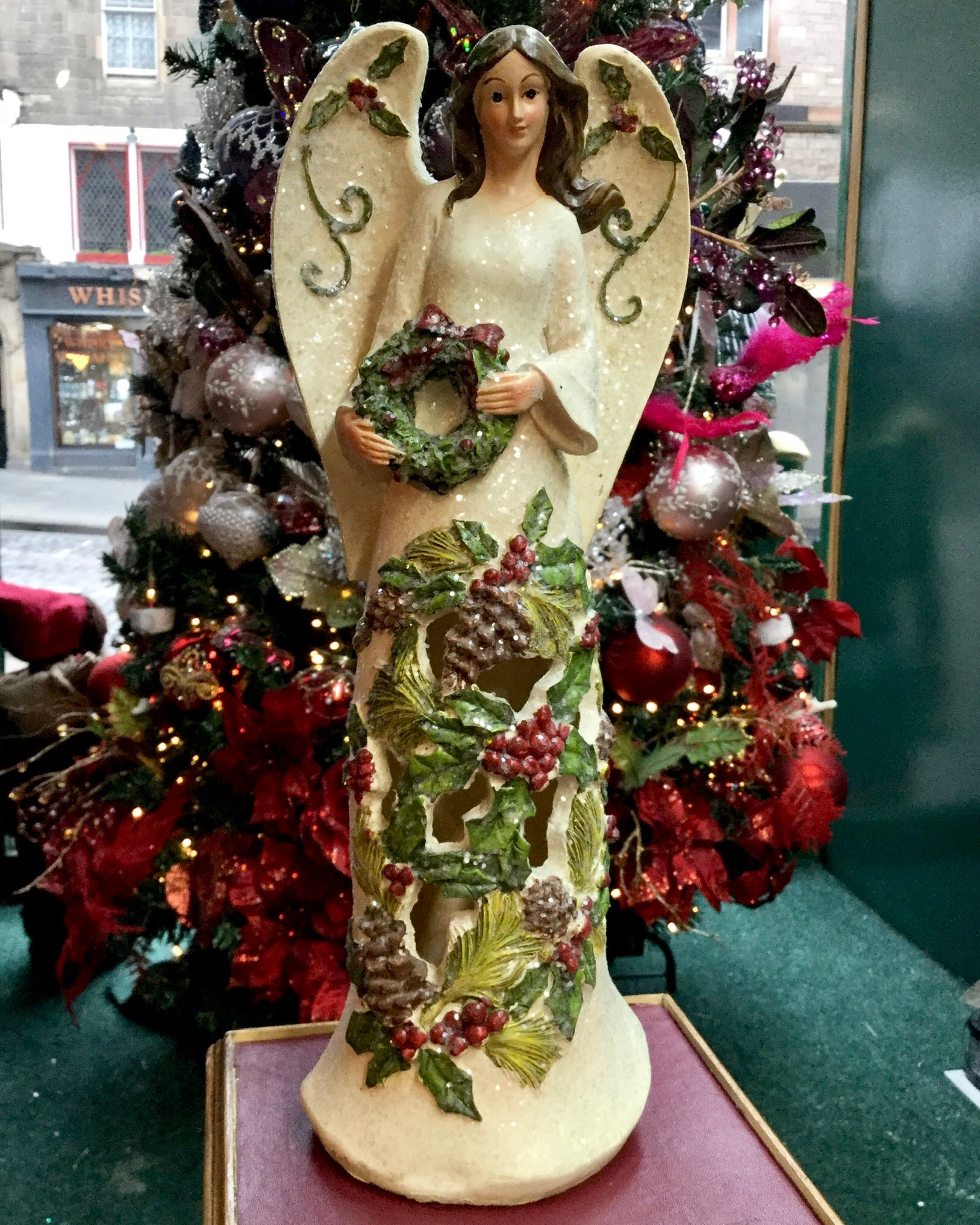 Holly Wreath Angel
