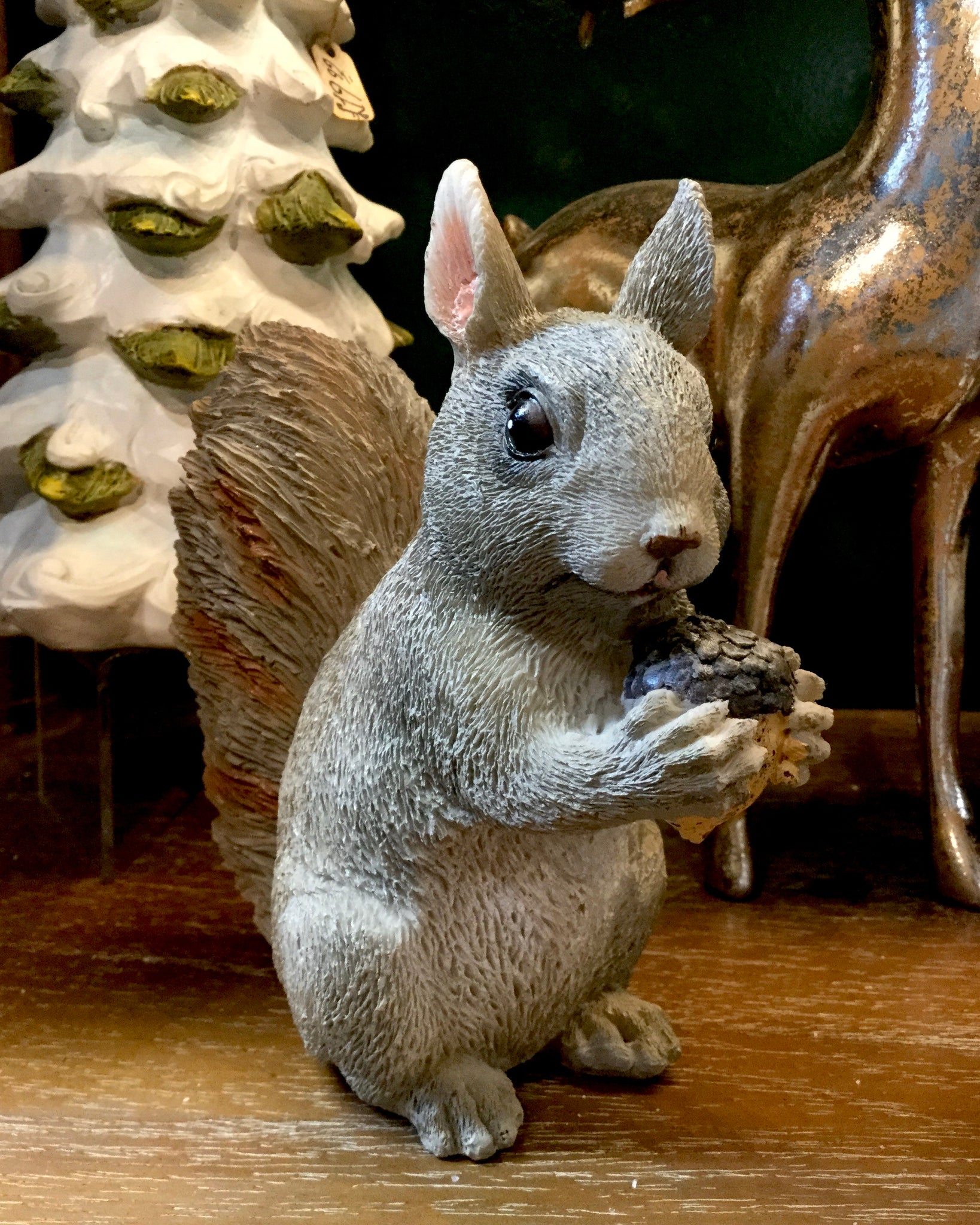 Grey Squirrel standing piece