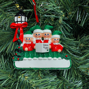 Caroler Family of 4