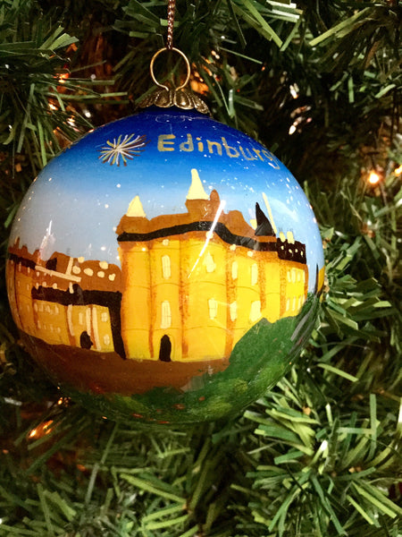 Edinburgh Christmas Bauble