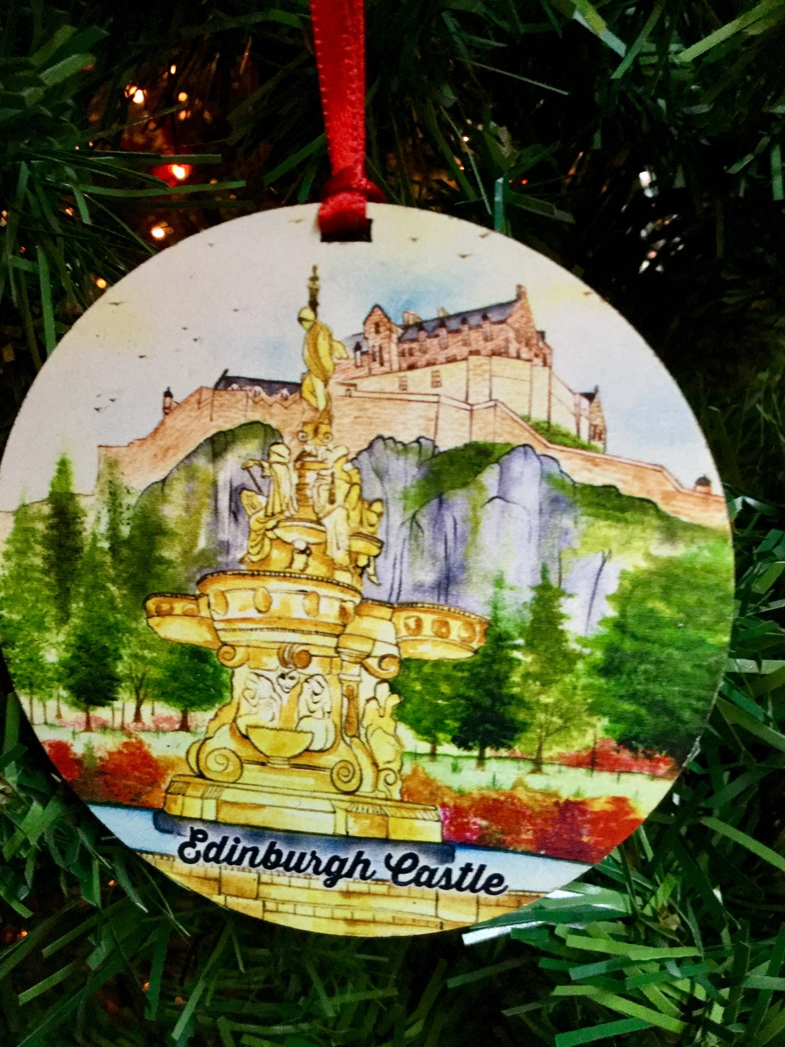 Edinburgh Castle Medallion
