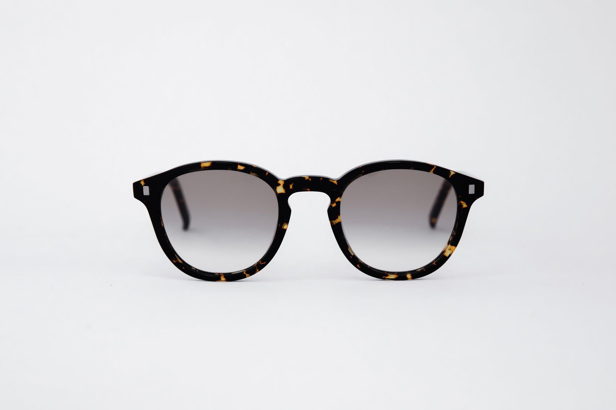 monokel eyewear sunglasses nelson brown tortoise / brown gradient lens