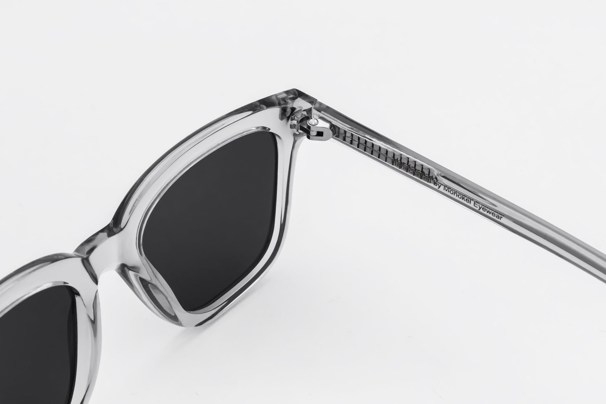 monokel eyewear sunglasses robotnik clear grey