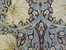 /Pimpernel 224492 Bullrush/Slate William Morris