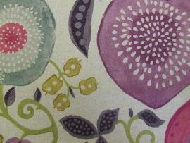 /Peas and Pods 225359 Berry/Linen  Sanderson