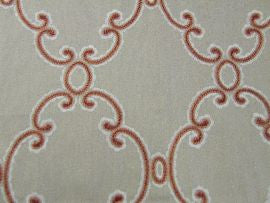 /Silvie F4204/02 Red  Colefax and Fowler