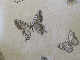 /*Butterfly Embroidery 235600 Charcoal/Walnut  Sanderson