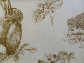 *Squirrel and Hedgehog 225524 Henna/Wheat  Sanderson